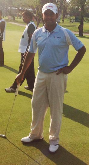 Golfer Anirban Lahiri interview