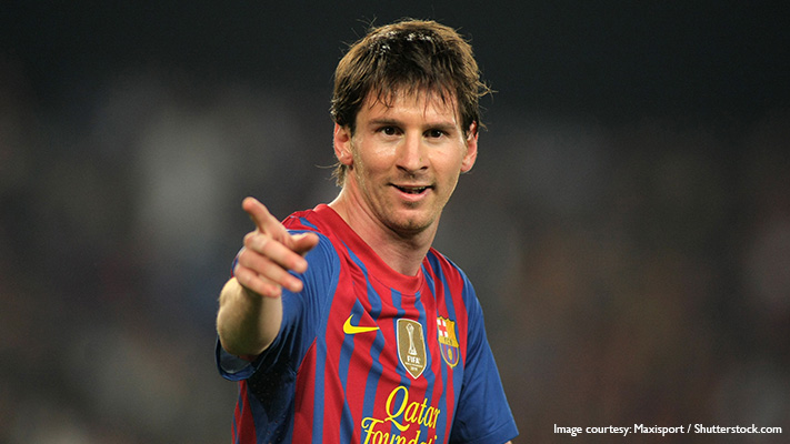 inspirational sportsmen in the world lionel messi