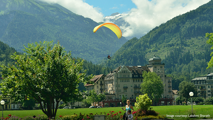 interlaken a perfect destination who love adventures