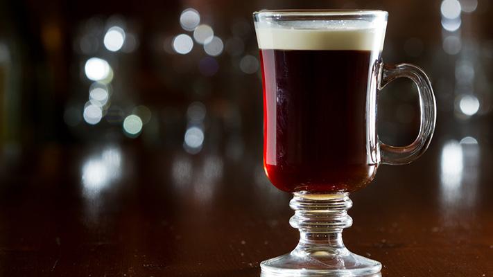 irish coffee top winter drinks