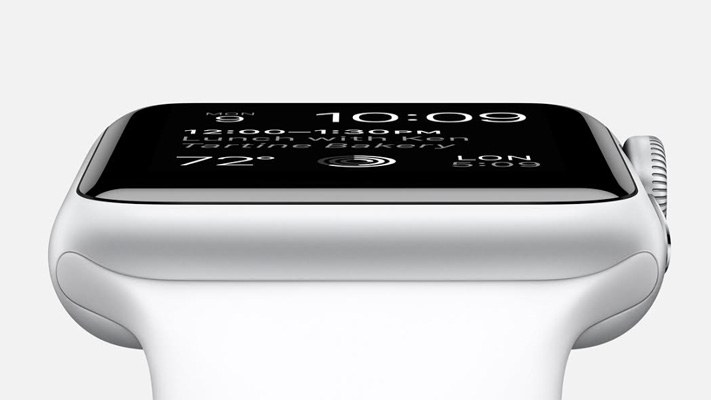 iwatch new generation apple smartwatch sideview