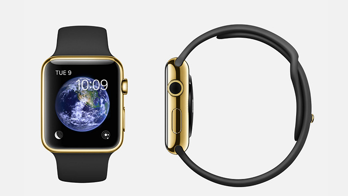 iwatch new generation smartwatch top sideview
