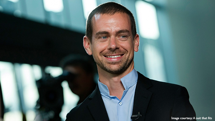 jack dorsey casual suiting style
