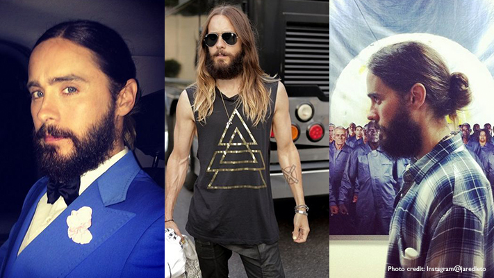 jared leto best long hairstyles