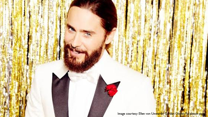 jared leto perfect bushy beard for amazing look