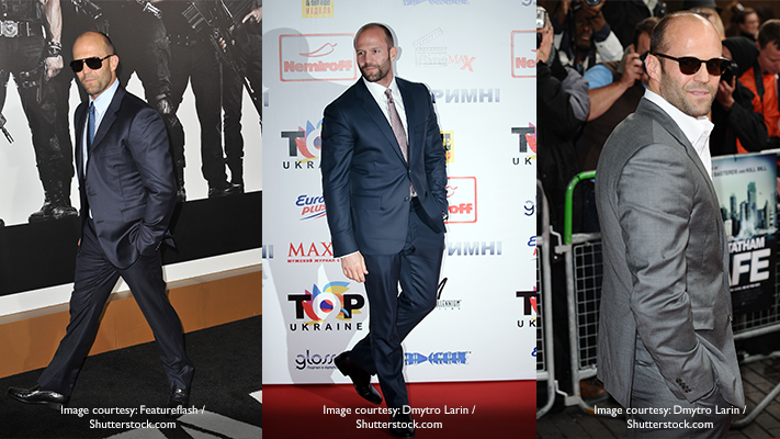 jason statham in stylish suits