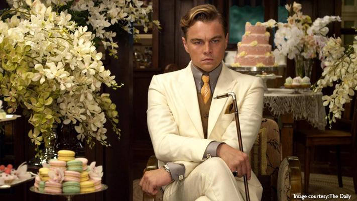 jay gatsby from the great gatsby stylish literary character