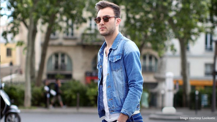 jeans with denim jacket casual wear