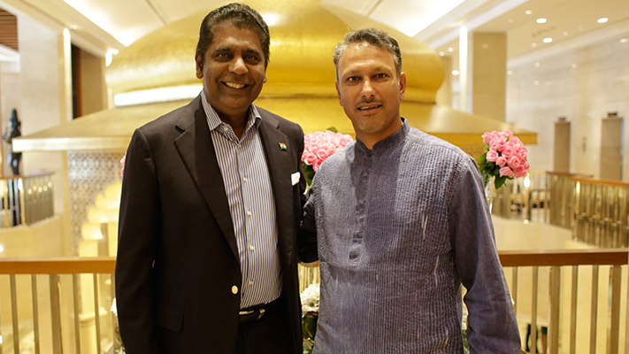 Jeev Milkha Singh interview with Vijay Amritraj
