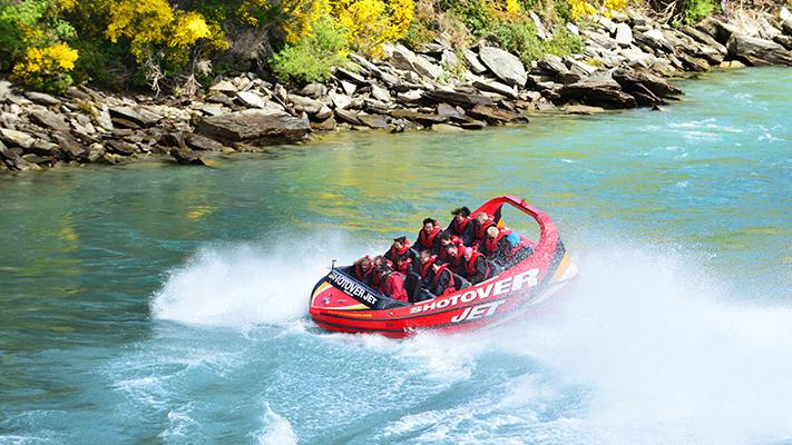 jet boat ride activities to enjoy in new zealand