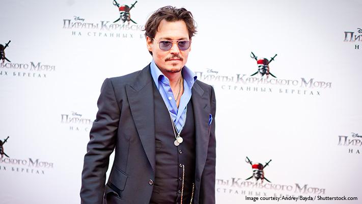 johnny depp clasiic sense of suit style