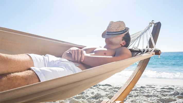 keep things simple to ensure relaxation on holidays