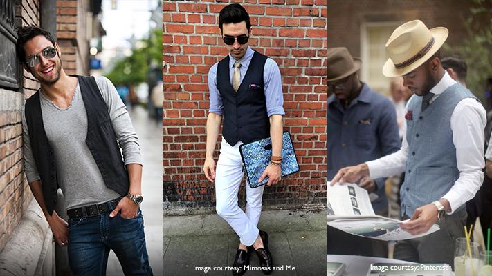 knit waistcoat classy and chic