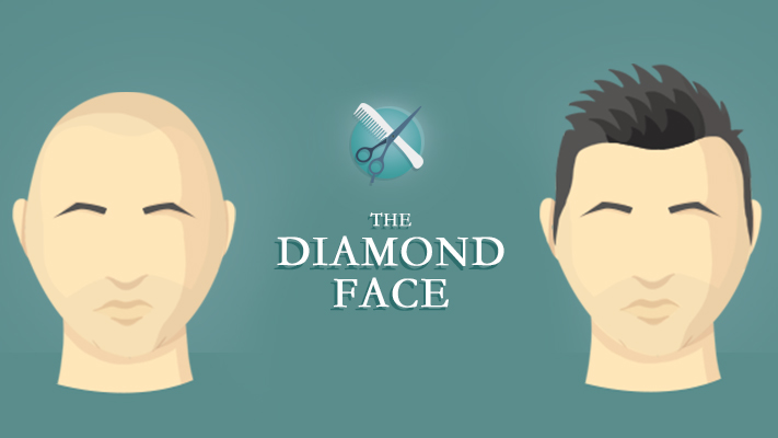 layered hairstyles looks stylish over diamond shaped face