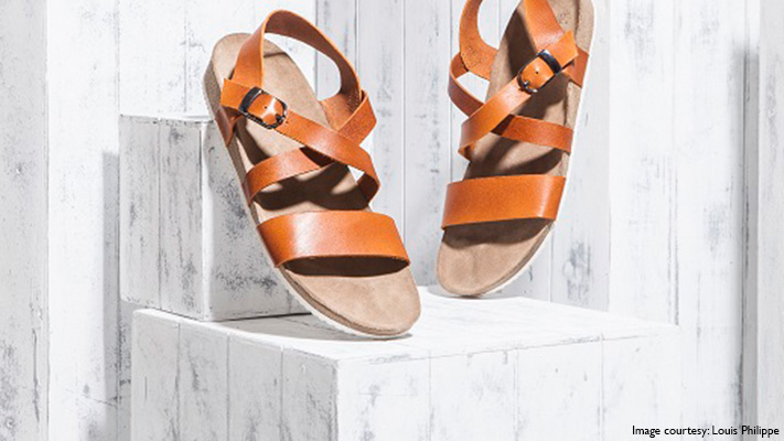 leather sandals summer wear