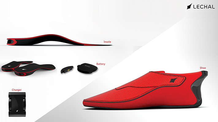 Lechal Bluetooth footwear wearable technology
