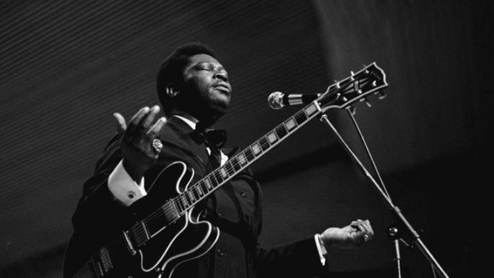 legendary american blues singer b b king