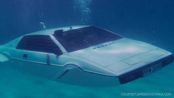 lotus esprit submarine famous james bond cars