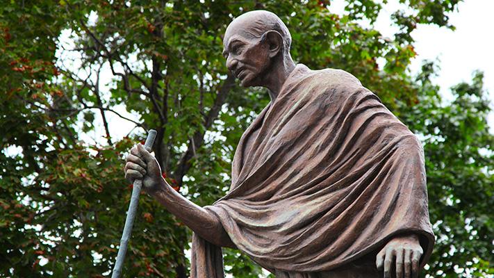 mahatma gandhi non violence struggle indian freedom movement
