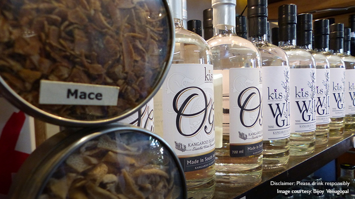 making of gin in south australia