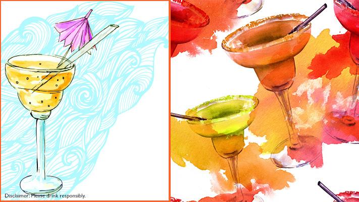 margarita glass for bartender