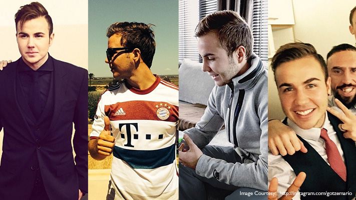 mario gotze trendy football players