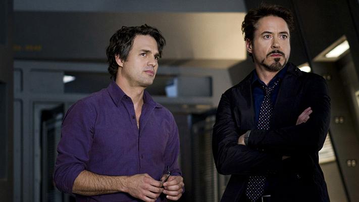 Mark Ruffalo With Robert Downey Jr
