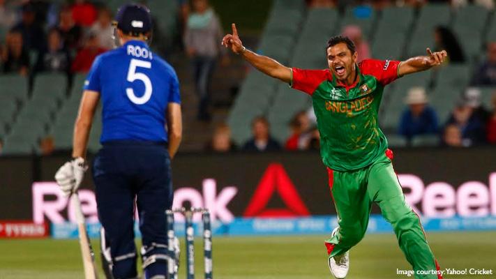 mashrafe mortaza bangladesh fast bowler