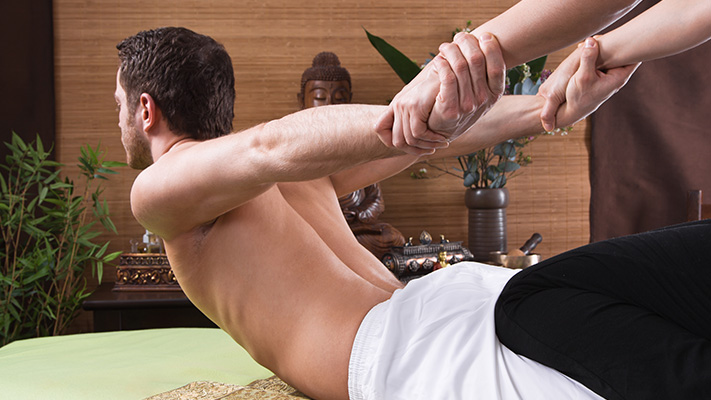 massage helps overcome tiredness boost energy