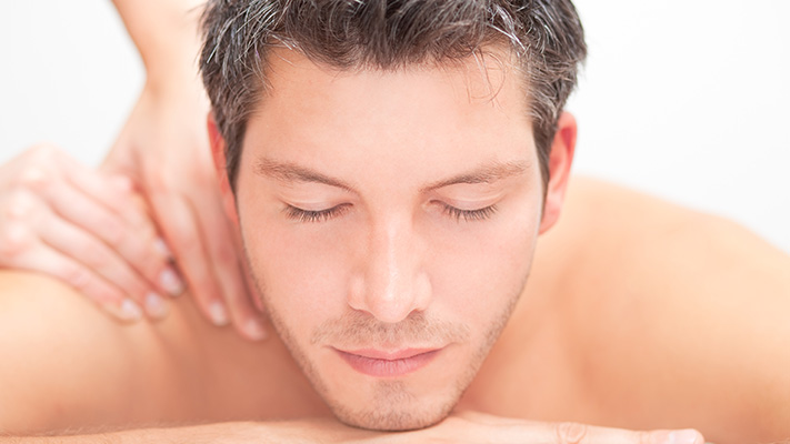 massage helps you calm down and relax