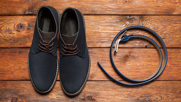 match your belt and shoes for a perfect fashionable look