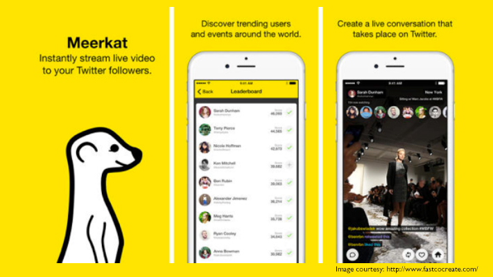 meerkat most useful video apps for ios