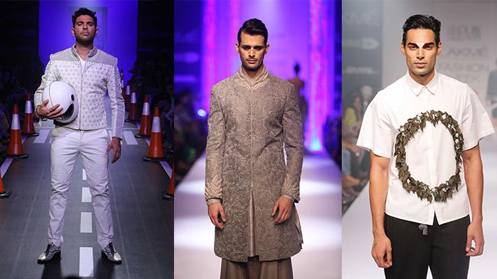 Mens collection at lakme fashion week 2014