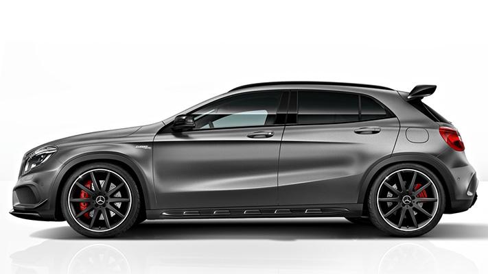 Mercedes GLA 45 amg car review