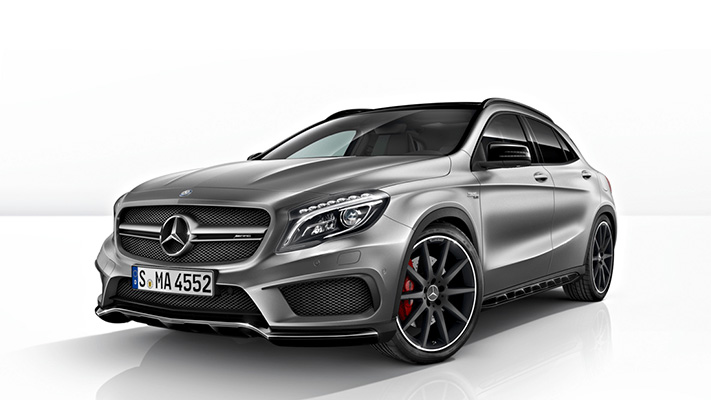 Mercedes GLA 45 amg features