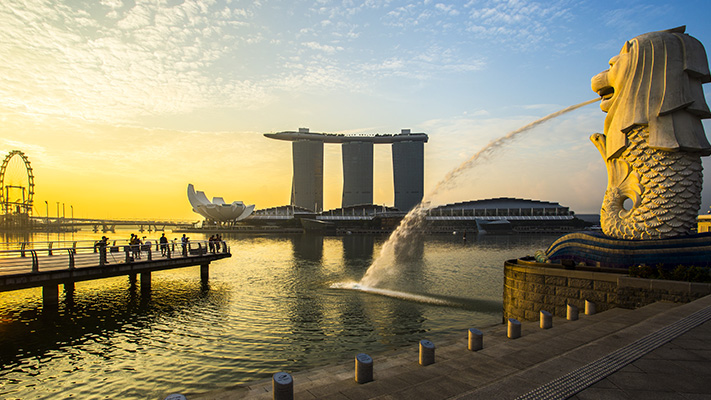 Merlion best places to visit in Singapore
