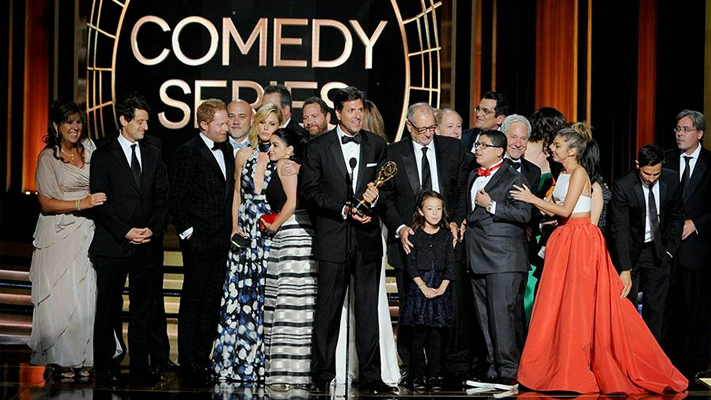 Modern family best comedy series 2014 Emmys