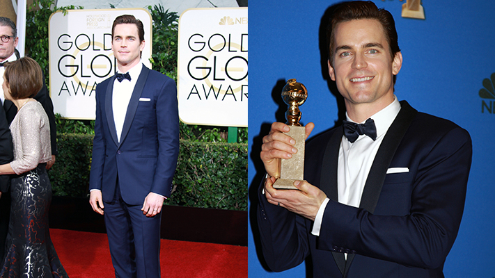 most stylish men at golden globes 2015