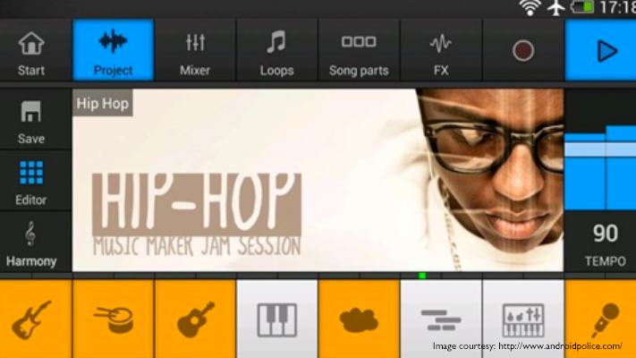 music maker jam top smartphone music apps