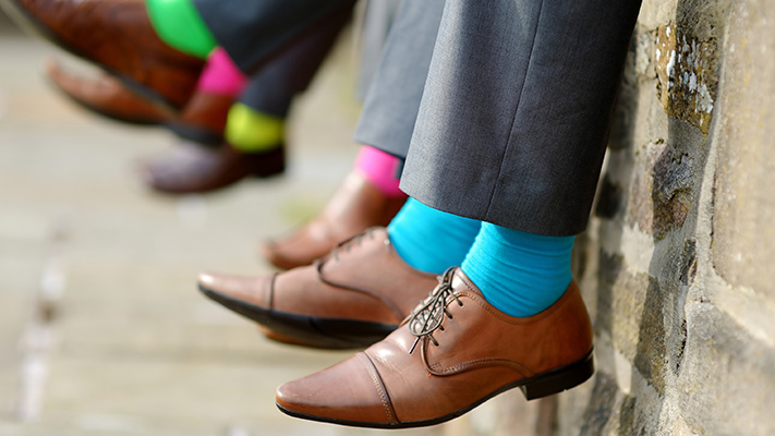 must own colourful socks to embrace your personality