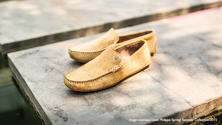 mustard loafers for perfect office look