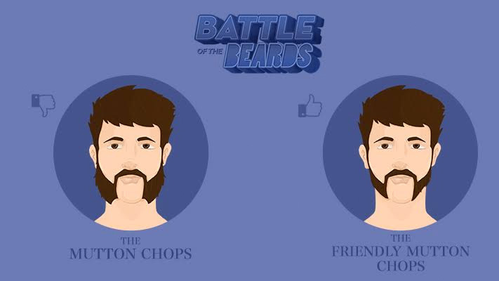 mutton chops vs friendly mutton chops beard