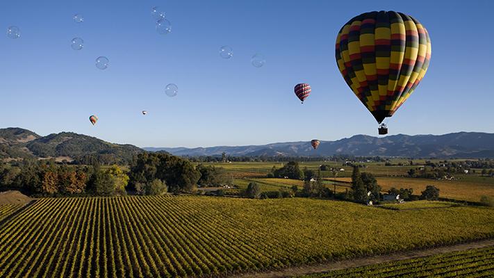 napa valley california must visit hot air ballooning places
