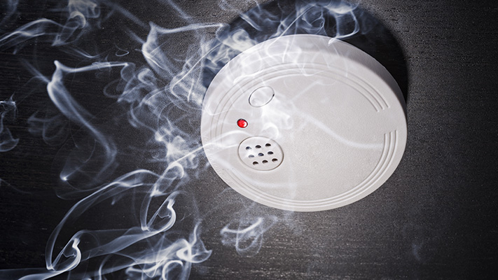 nasa invented adjustable smoke detector for safety purpose