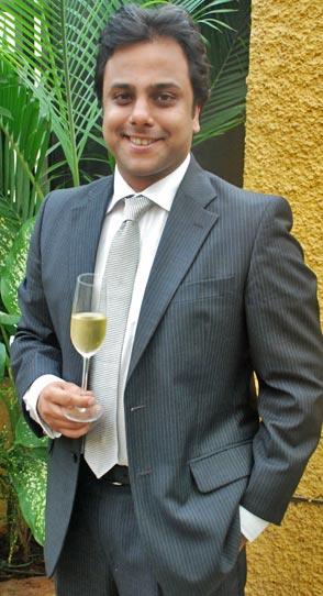 Nikhil Agarwal sommelier director