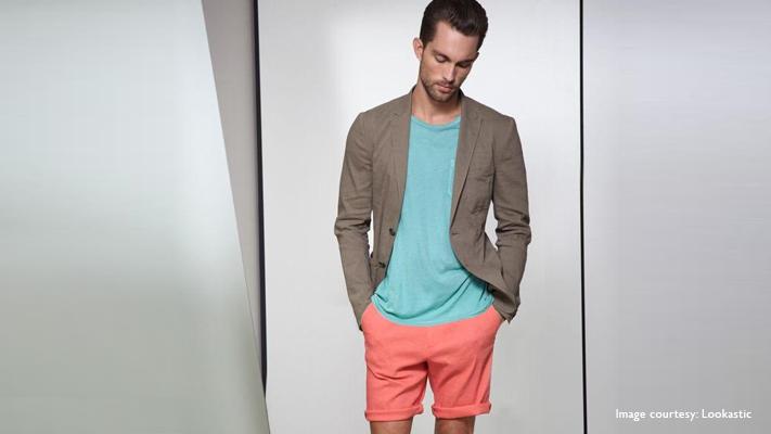 orange rind summer jacket casual wear