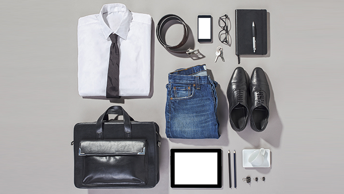 perfect accessories for men during business travel