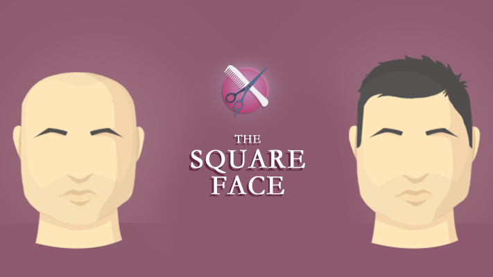 perfect hairstyle for square face for men