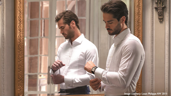 perfect white tuxedo shirt for men