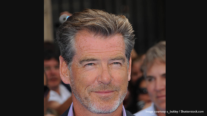 pierce brosnan stars who look great with grey hair